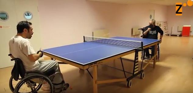 Ii torneo de navidad de tenis de mesa adaptado discapzine promoci n del mundo de la discapacidad - Torneo tenis de mesa ...